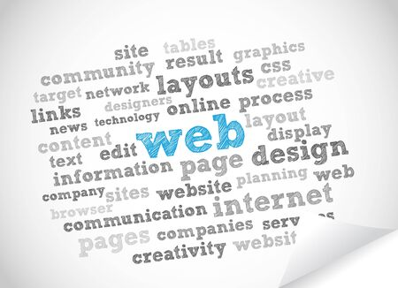 assemblage: Web tag cloud