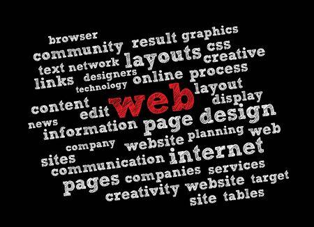 assemblage: Web Illustration