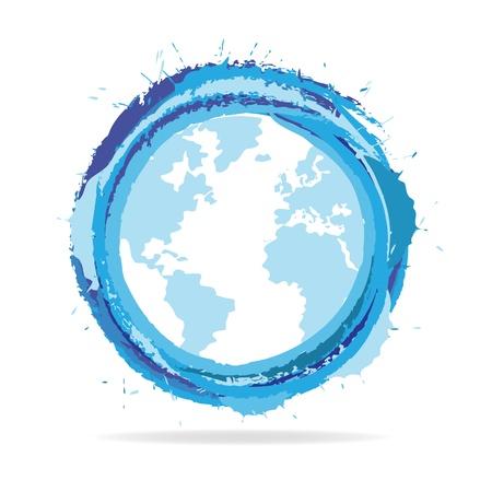 glob: Abstract Globe icon