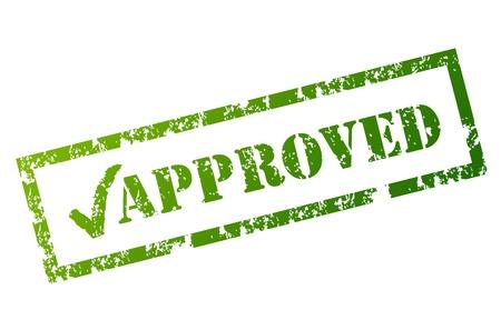 deacuerdo: Sello de aprobado Vectores