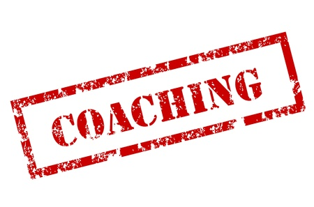 administration: Grunge Coaching stamp