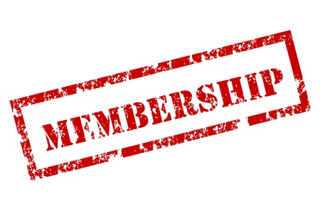 sello de goma: miembros sello de goma Vectores