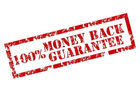 Money back stamp Stock Vector - 12221994