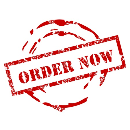 order now: Order now stamp