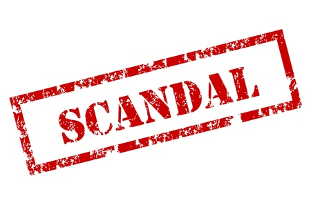 scandal: Scandal stamp