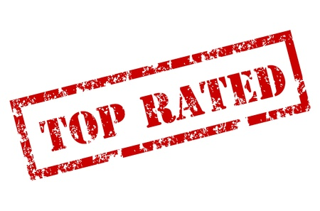 quality service: Top rated stamp