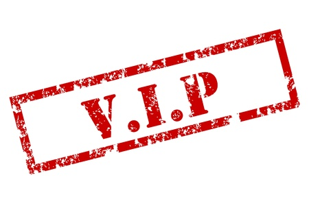 Grunge VIP stamp Stock Vector - 12221942