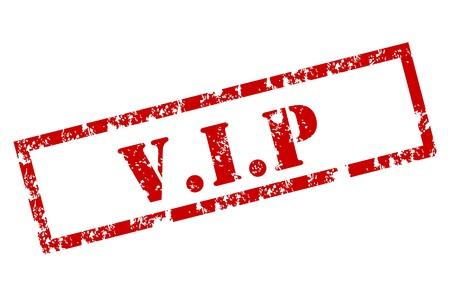 Grunge VIP stamp Stock Vector - 12221942