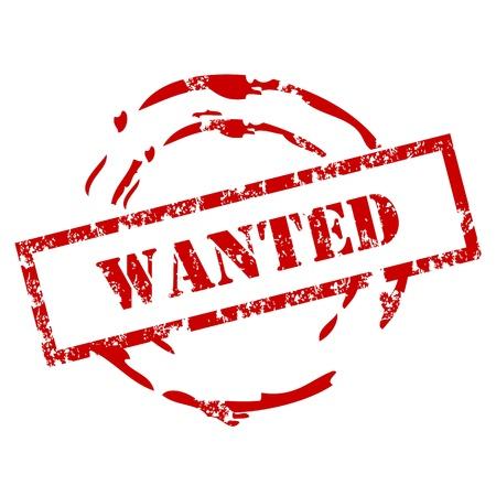 terrorist: Grunge Wanted stamp