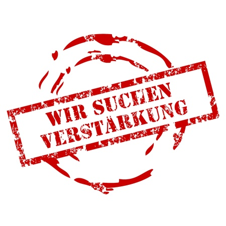 verstarkung stamp Stock Vector - 12481222