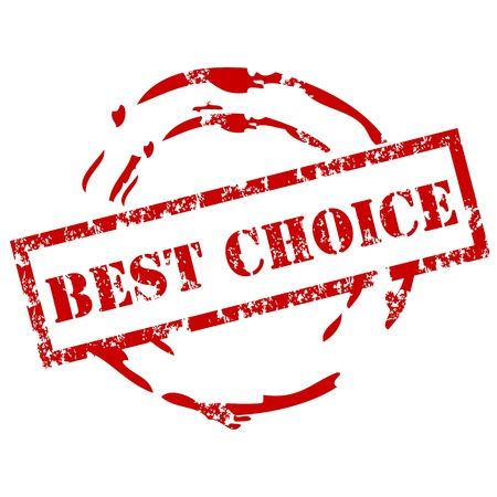 Best choice stamp Stock Vector - 12222059