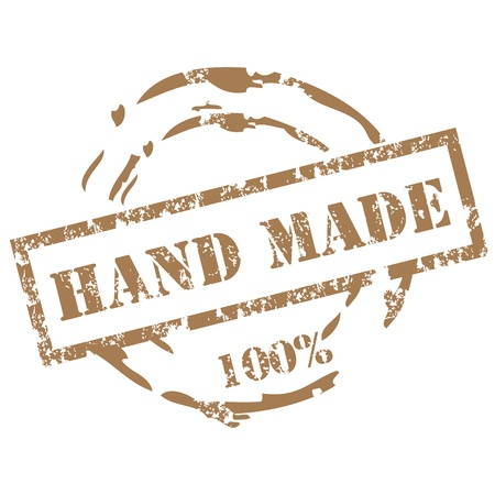 rekodzielo: Handmade pieczęć Ilustracja