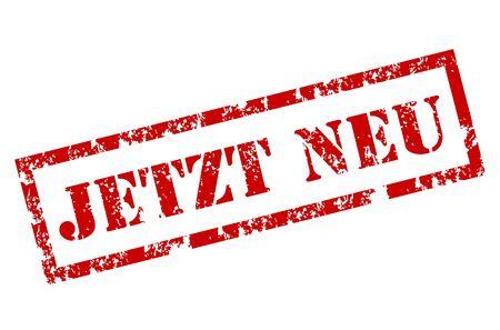 promising: Grunge Jetzt Neu Stamp