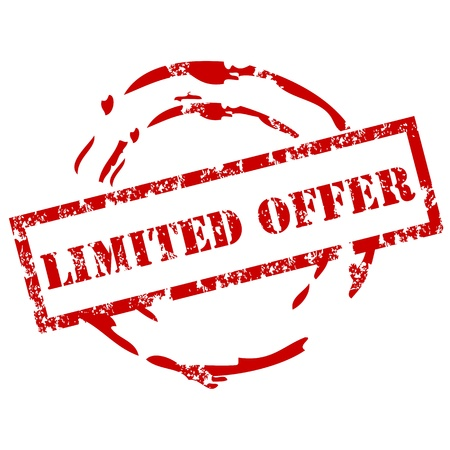 limited time: Limited Offer stamp