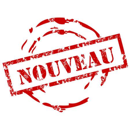 sensational: Nouveau rubber stamp