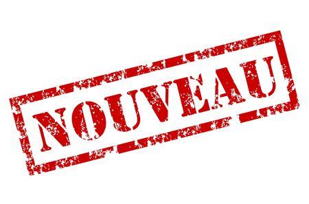 sensational: Grunge Nouveau stamp Illustration