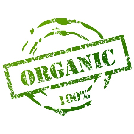 organic background: Organic grunge stamp