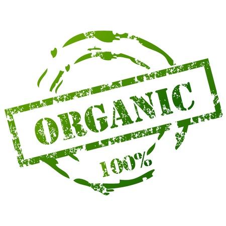 org�nico: Sello grunge Org�nica