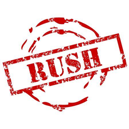 trustworthy: Rush Stamp
