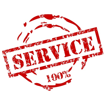 Image result for 100% certified service stamp