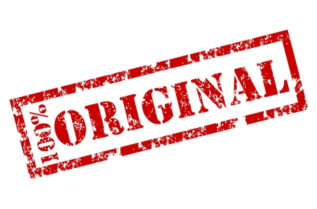 estampa: Sello de goma original Vectores