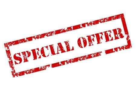 offerta speciale: Offerta Francobollo speciale Vettoriali