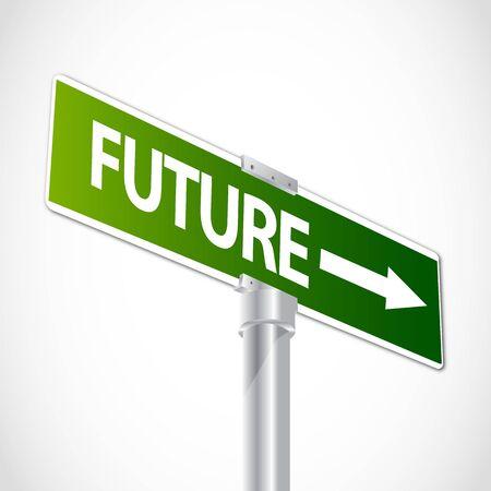 Future sign Stock Vector - 12481213