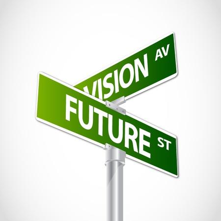 vision future: Vision, Future sign