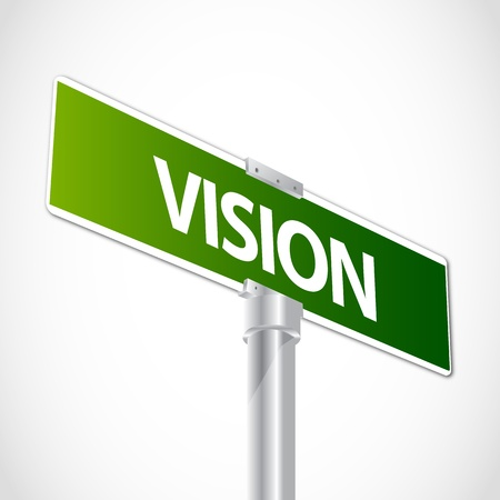 resourcefulness: Vision sign Illustration