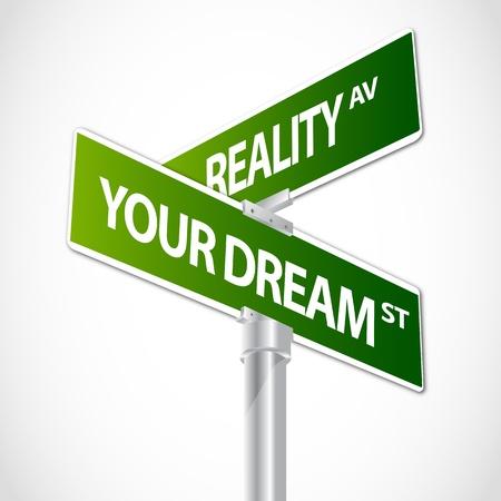 Réalité, Votre rêve signe