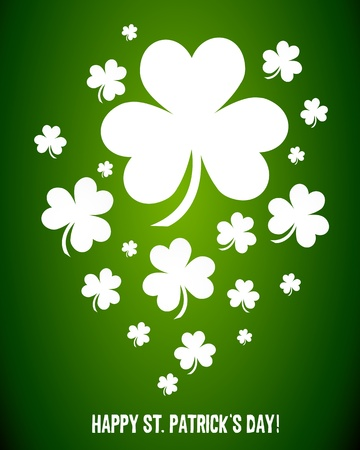 eire: Irish Shamrock Clovers