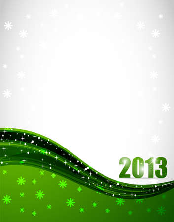 2013 New Year Background Stock Vector - 12585667