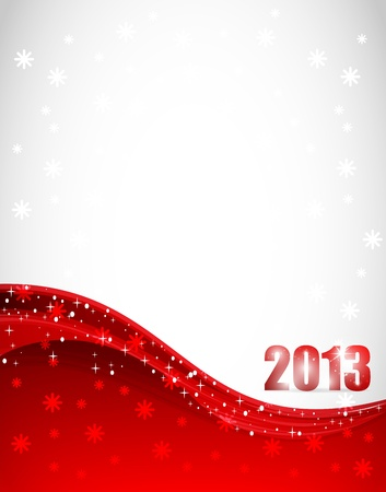 New Year 2013 Stock Vector - 12585671