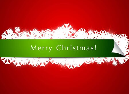Christmas Banner Background Stock Photo - 12585700