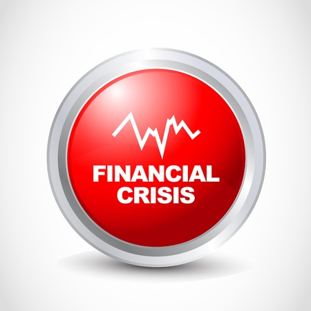 icona: financial crisis button