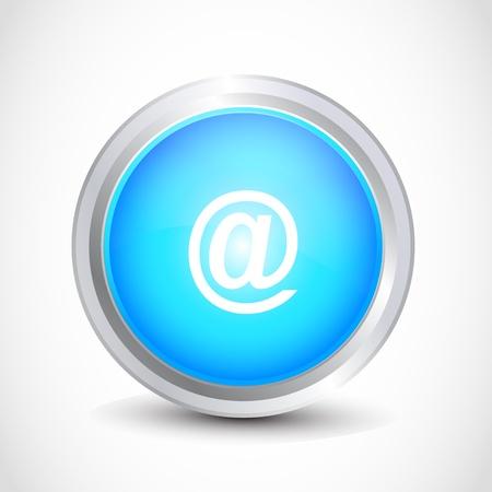 icona: web address glossy button