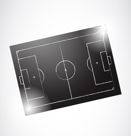 tactics: Abstract Soccer Tactics Board