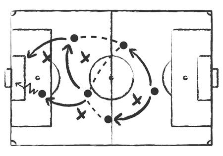 scratch board: soccer tactics