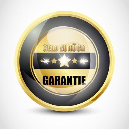 ending of service: Geld Zur�ck Garantie Button