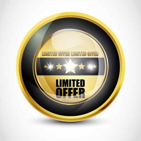 Limited Offer Button photo