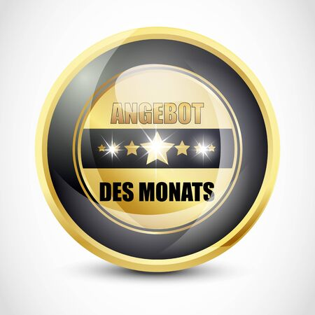 offer icon: Angebot des Monats button