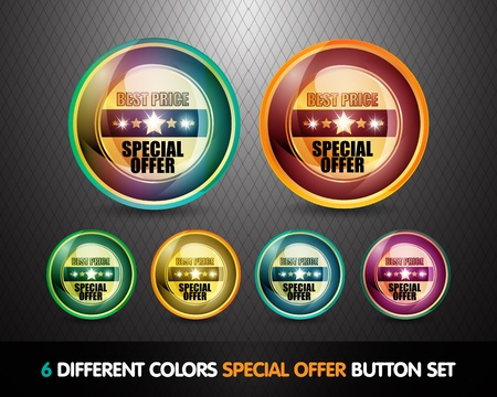 Colorful Special Offer  Best Price  Button Set photo