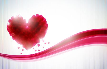St Valentines day background Stock Photo - 13272125