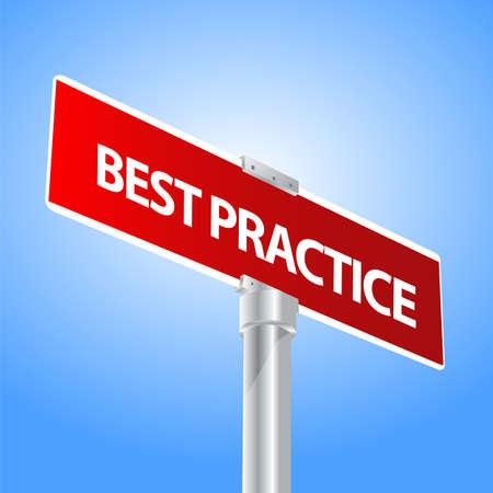 Best Practice Stock Vector - 13447725