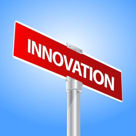 Innovation sign Stock Vector - 13447703