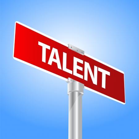 talent: Talent Illustration