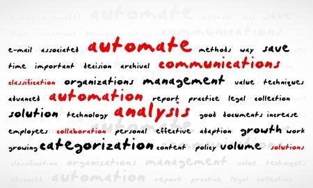Technology Word Cloud Stock Vector - 13644284