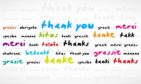 Merci Word Cloud