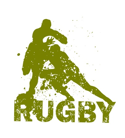 tackling: Rugby