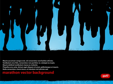 marathon runner: Marathon Runners Background